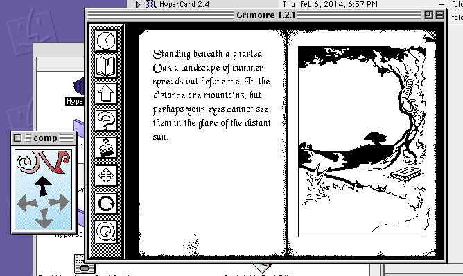 Grimmoire Hypercard Stack